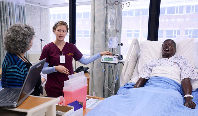 New simulation center opens—The $7.8 million center triples the size of the old nursing lab space
